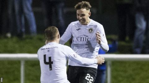 Edinburgh's Liam Henderson (right) scored the winner
