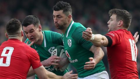 Ireland's Jonathon Sexton