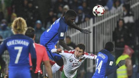 Bulgaria against France