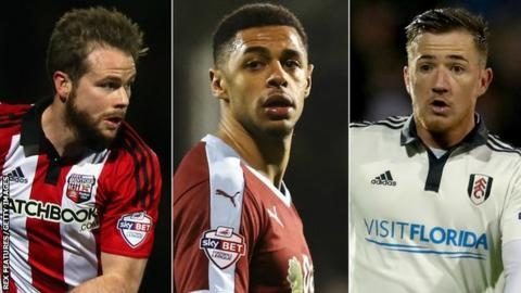 Alan Judge, Andre Gray, Ross McCormack