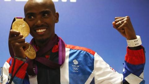 Mo Farah 'missed two drugs tests' before London 2012 gold