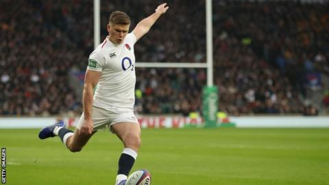 England's Six Nations preparations hit by Owen Farrell thumb injury