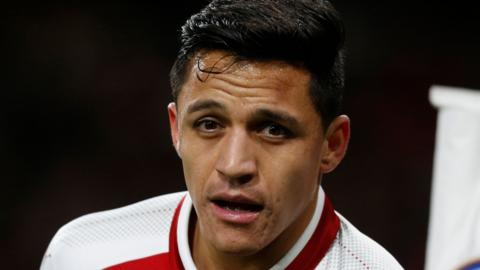 Alexis Sanchez to join Man United