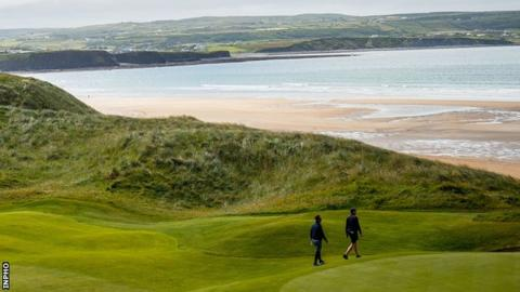Northern Ireland Golf is due return in the Republic of Ireland on 18 May