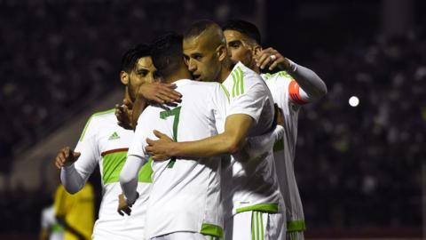 Algeria are back at the top of the African rankings