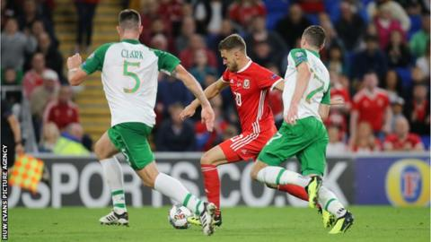 Aaron Ramsey has scored 14 goals for Wales in 55 appearances