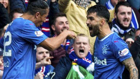 Daniel Candeias reacts on Twitter after agreeing new Rangers deal