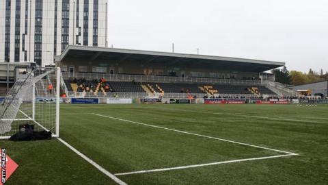 Maidstone United's Gallagher Stadium