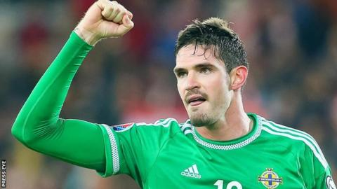 Kyle Lafferty has scored seven goals in Northern Ireland's Euro 2016 qualifying campaign