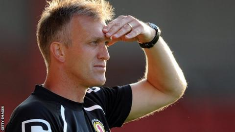 New Leyton Orient head coach Steve Davis