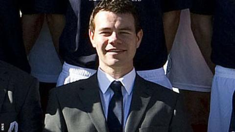 Ross Wilson during his time at Falkirk