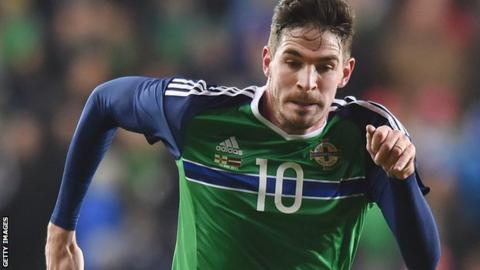 Northern Ireland's Kyle Lafferty