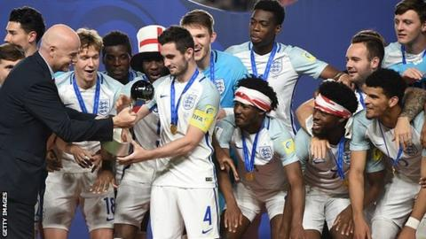 Lewis Cook lifted the Under-20 World Cup for England this summer