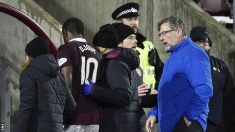 Celtic's unbeaten domestic run ends with Hearts thrashing