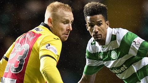 Ziggy Gordon and Scott Sinclair