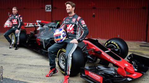 Kevin Magnussen & Romain Grosjean