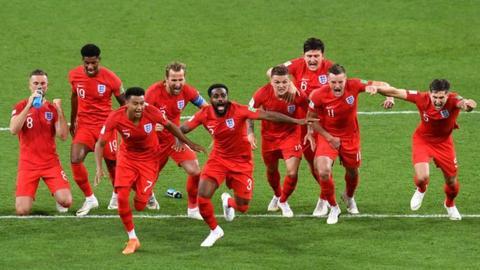 England win pen shootout