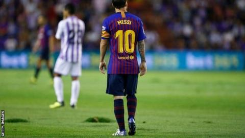 Real Valladolid vs. Barcelona - Football Match Report