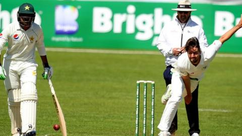 Tyrone Kane played in Ireland's inaugural Test against Pakistan last year