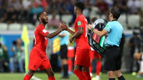 England's Raheem Sterling dropped in leaked team sheet