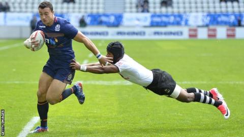 Jamie Farndale of Scotland Sevens