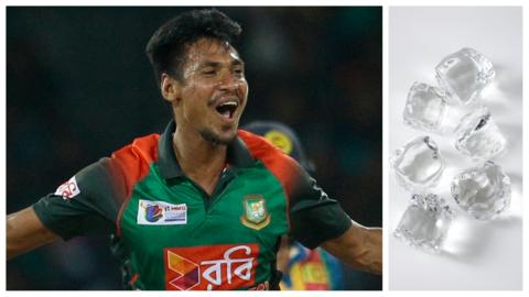 Mustafizur Rahman celebrates a wicket in 2018