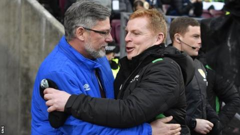Levein disrespectful, says Hibs counterpart Lennon