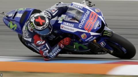 Jorge Lorenzo rides