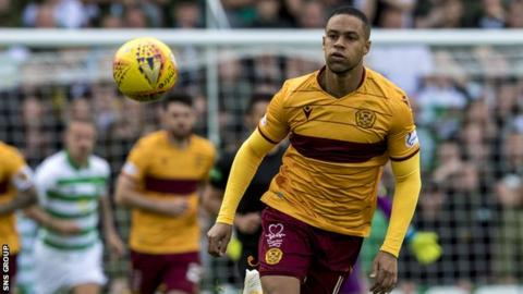 Charles Dunne has started seven of Motherwell's nine matches this season
