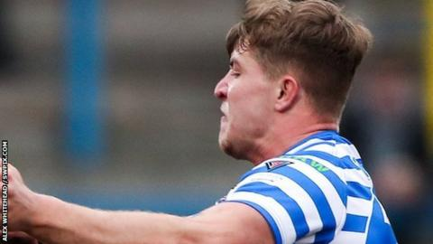 Halifax centre Chester Butler scored two of his side's six tries in the derby draw at the Tetley's Stadium
