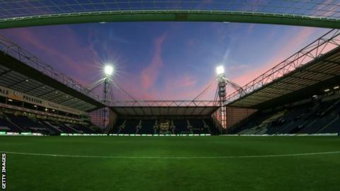 Preston's Deepdale Stadium