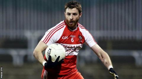 Derry defender Gerard O'Kane