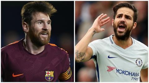 Fabregas & Messi