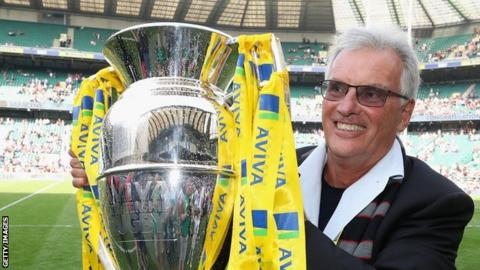 Saracens owner Nigel Wray first invested in the club in 1995