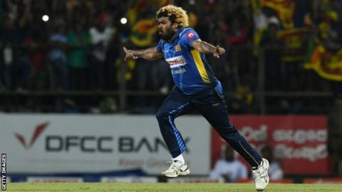 Lasith Malinga: Sri Lanka bowler takes four wickets in four balls for second time