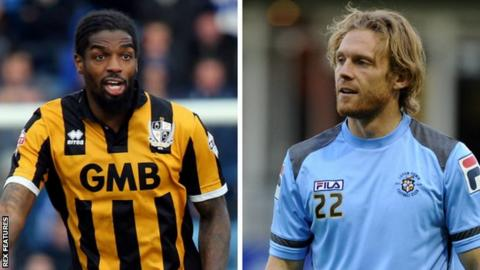 Anthony Grant and Craig Mackail-Smith