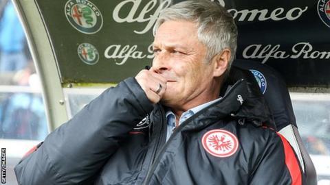 Armin Veh who has been sacked by Eintracht Frankfurt