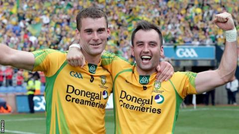 Karl Lacey and Eamonn McGee are named in the Donegal team for the All-Ireland quarter-final against Mayo, despite concerns over their fitness.