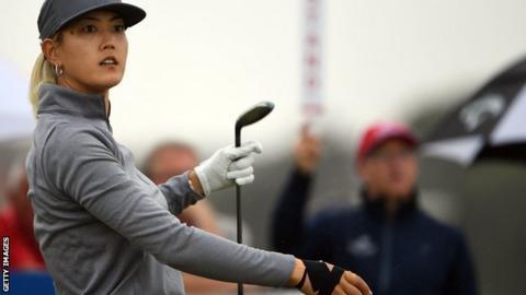 102804221 wie - Women's British Open: Michelle Wie 'devastated' by injury withdrawal