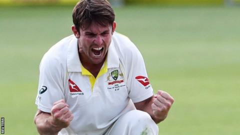Mitchell Marsh has yet to play county cricket