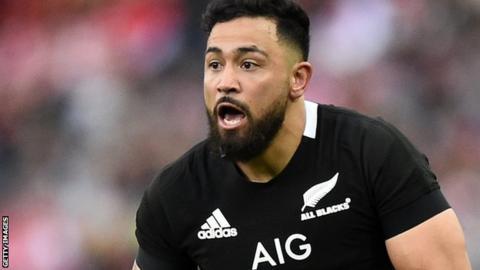 Matt Proctor in action for New Zealand