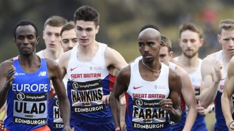 Mo Farah and Callum Hawkins are GB's two fastest ever runners over a half marathon
