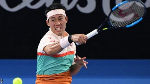 Kei Nishikori powers through to Brisbane final