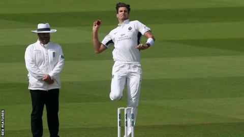 England and Middlesex bowler Steven Finn