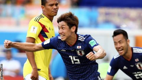 Japan come from behind twice to draw with Senegal