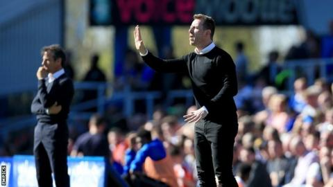 Gary Rowett's Derby beat Birmingham City when he returned to St Andrew's in April - less than a month after his Rams appointment