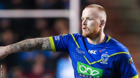 Dom Crosby is out of contract with Warrington Wolves at the end of the season