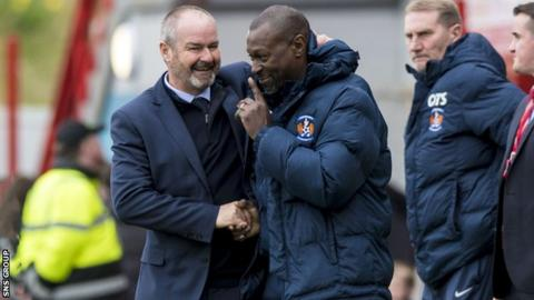 science Clarke and Dyer met when the pair worked at West ham United, and led Kilmarnock to unprecedented success
