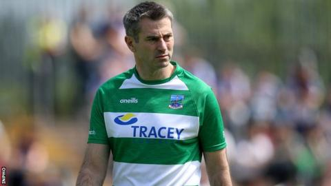 Fermanagh manager Rory Gallagher spent six years coaching the Donegal footballers