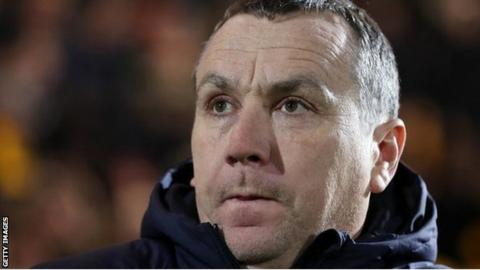 Micky Mellon was appointed Tranmere manager on 6 October 2016
